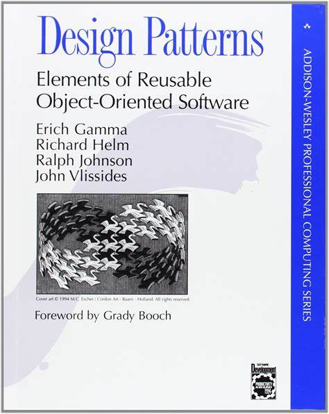 Software design patter book cover